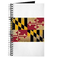 Maryland State Flag VINTAGE Journal