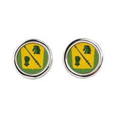 18th Cavalry Regiment.png Round Cufflinks