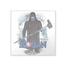 "Ronan Vertical Square Sticker 3"" x 3"""
