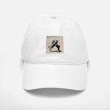 Schnauzer Hug Baseball Baseball Cap