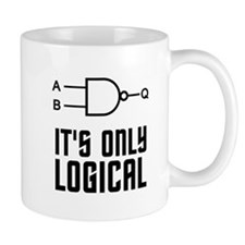 It's Only Logical Mugs