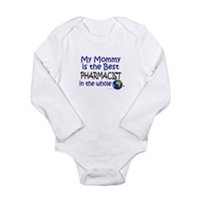 Cute Occupations pharmacist Long Sleeve Infant Bodysuit