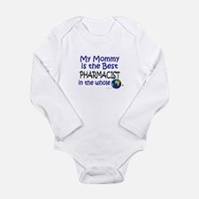 Cute Pharmacist for baby Long Sleeve Infant Bodysuit