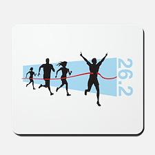 26.2 Marathon Finish Line Mousepad