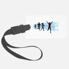 26.2 Marathon Finish Line Luggage Tag