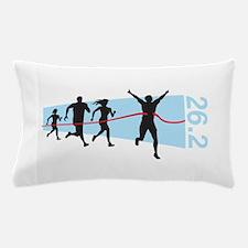26.2 Marathon Finish Line Pillow Case
