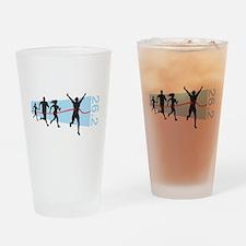 26.2 Marathon Finish Line Drinking Glass