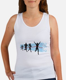 26.2 Marathon Finish Line Tank Top