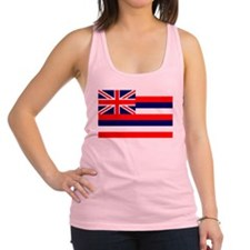Hawaiian Flag Racerback Tank Top