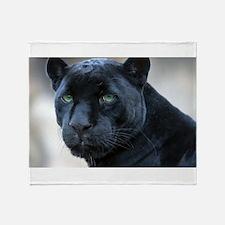 black panther Throw Blanket