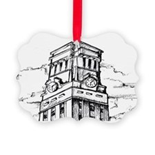 Top Of The Ut Tower Ornament