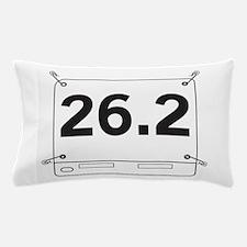 26.2 Running Shirt Tag Pillow Case
