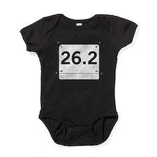 26.2 Running Shirt Tag Baby Bodysuit