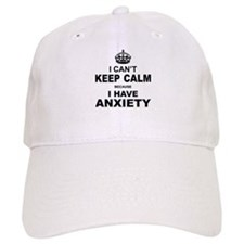 I Cant Keep Calm Because I Have Anxiety Baseball C