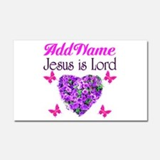 JESUS IS LORD Car Magnet 20 x 12