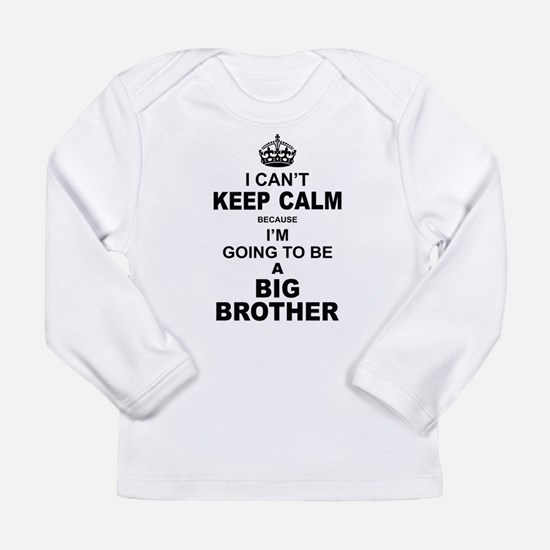 ....I am Going to be A Big Brother Long Sleeve T-S