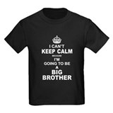 Im going to be a big brother Kids T-shirts (Dark)