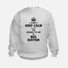.....Going To Be A Big Sister Sweatshirt