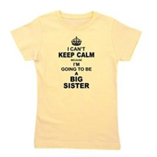 .....Going To Be A Big Sister Girl's Tee