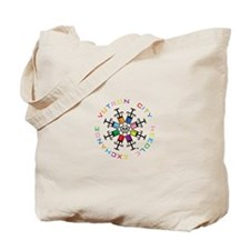 Needle Wheel Tote Bag