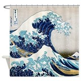 Hokusai Shower Curtains