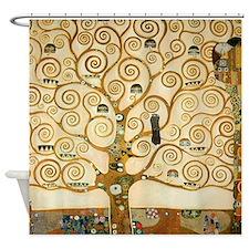 Klimt Tree Of Life Shower Curtain