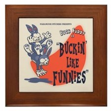 Buckin' Like Funnies Framed Tile