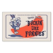 Buckin' Like Funnies Decal