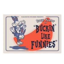 Buckin' Like Funnies Postcards (Package of 8)