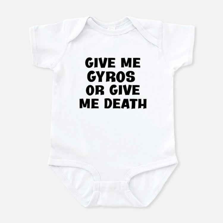 Give me Gyros Infant Bodysuit