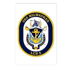 USS Milwaukee LCS-5 Postcards (Package of 8)