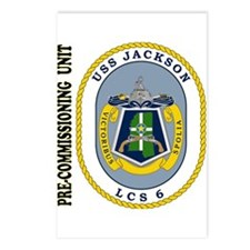 PCU Jackson LCS-6 Postcards (Package of 8)
