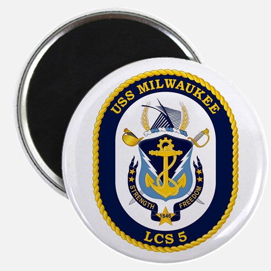 USS Milwaukee LCS-5 Magnet
