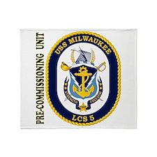 PCU Milwaukee LCS-5 Throw Blanket