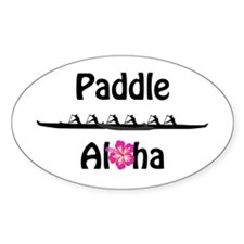 Paddle Aloha Wahine Decal