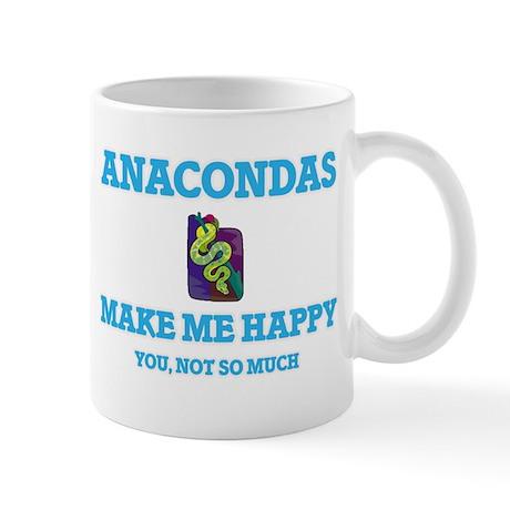 Anacondas Make Me Happy Mugs