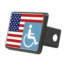 Disabled US Veteran Hitch Cover