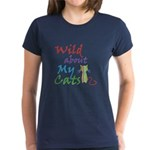 Wild about My Cats T-Shirt