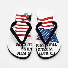 World War Winners Flip Flops