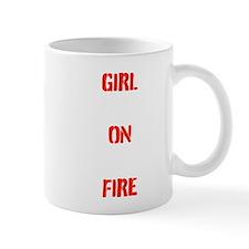 Girl On Fire - Hunger Games Mugs