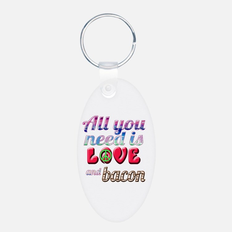 All You Need is Love and Ba Keychains