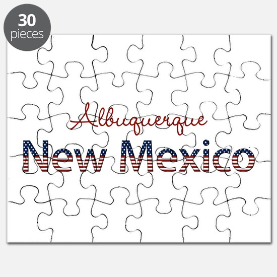 Custom New Mexico Puzzle