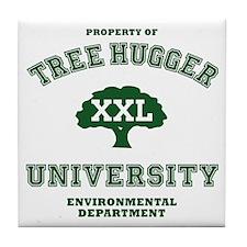 Tree Hugger  Tile Coaster