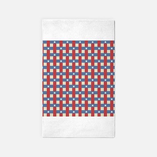 Political Weave 3x5 Area Rug