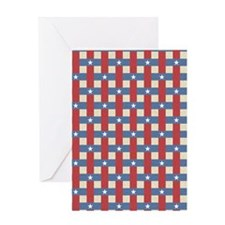 Political Weave Greeting Card