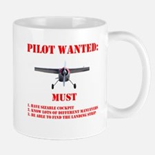 Pilot Wanted Mugs