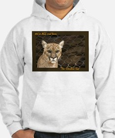Were ALL Mad Here. Hoodie