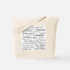 International I love you Tote Bag