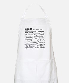 International I love you Apron