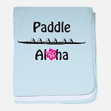 Paddle Aloha Wahine baby blanket